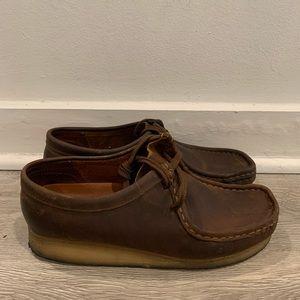 Clarks ORIGINALS Leather Wallabee's Men's Size 8.5